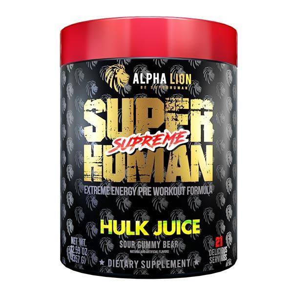 Superhuman Supreme Hardcore Stim Pre Workout