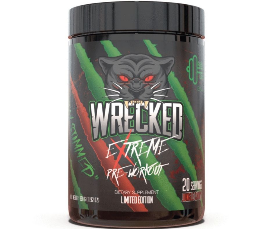 Wrecked Extreme Pre Workout Review: An Ergogenic Pre Workout For Superior Strength & Stamina | Dr Workout