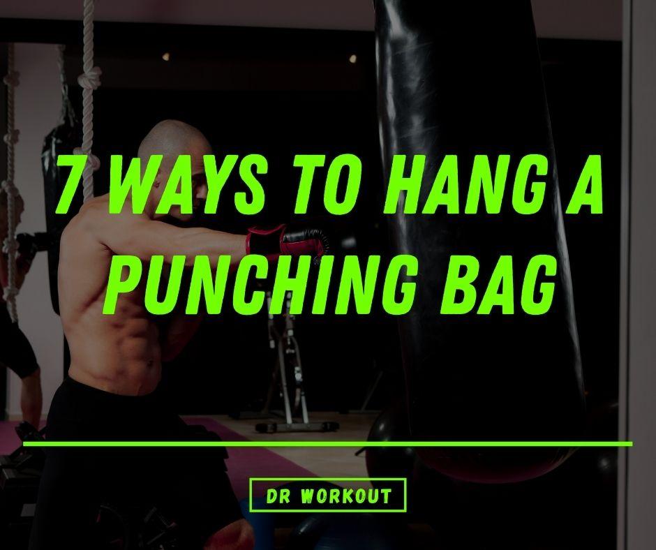 Hang a boxing heavy bag