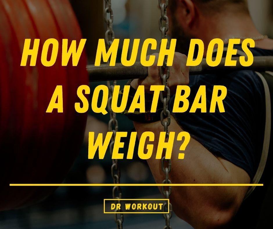 How Much Does A Squat Bar Weigh