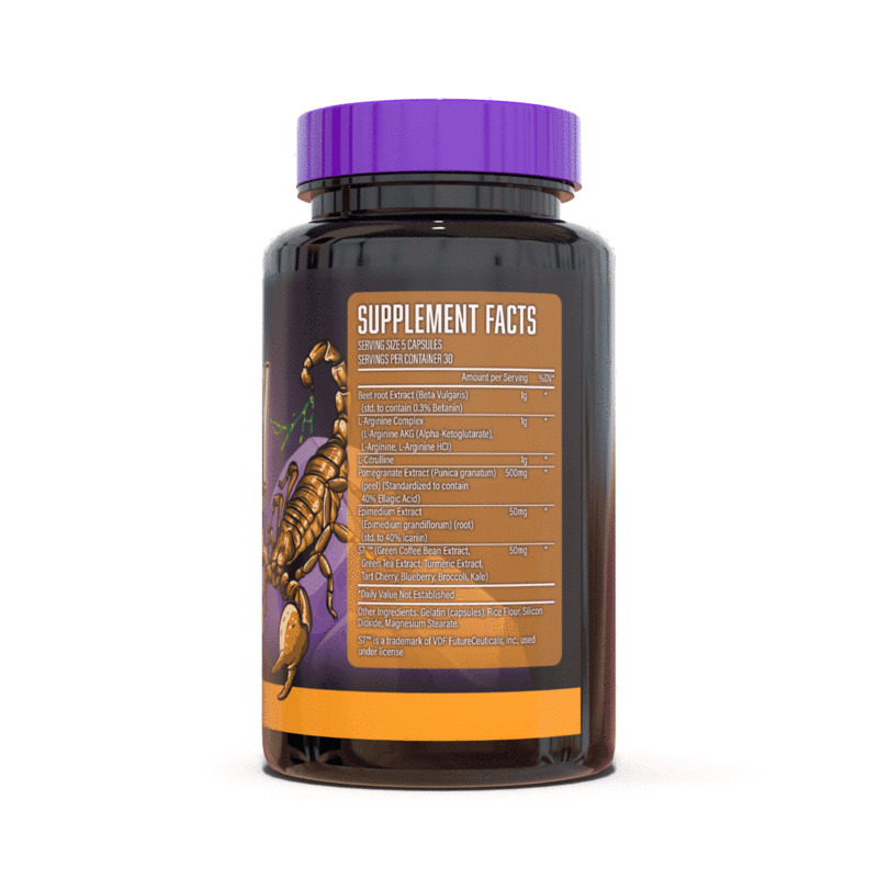 Magnify Nitric Oxide Supplement Ingredients