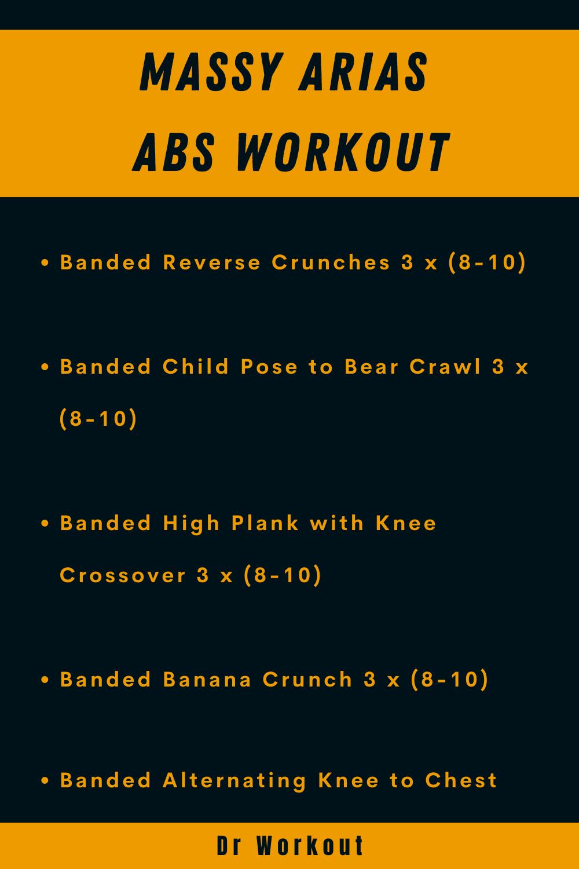 Massy Arias Abs Workout