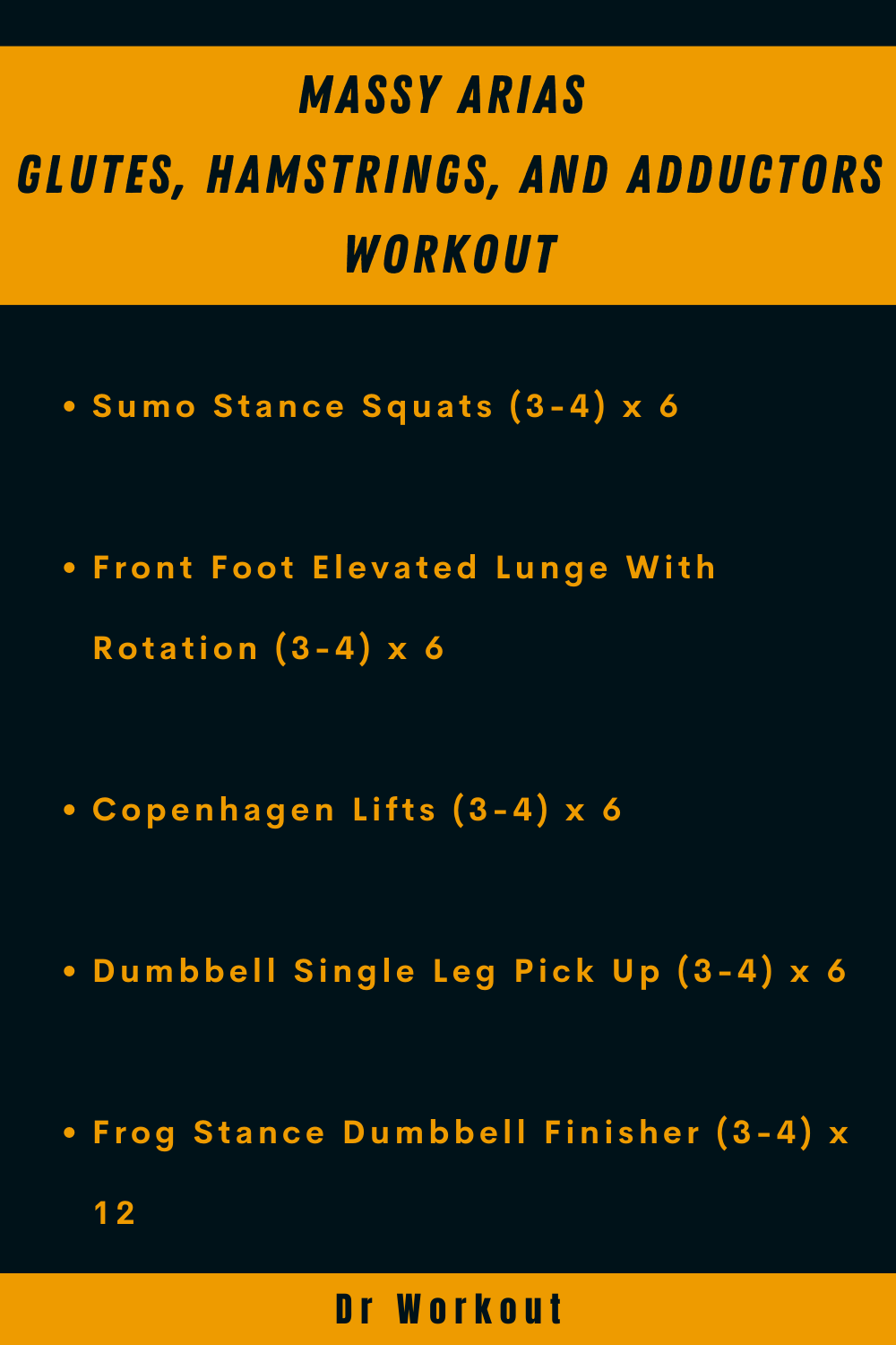 Massy Arias Glutes, Hamstrings, and Adductors Workout
