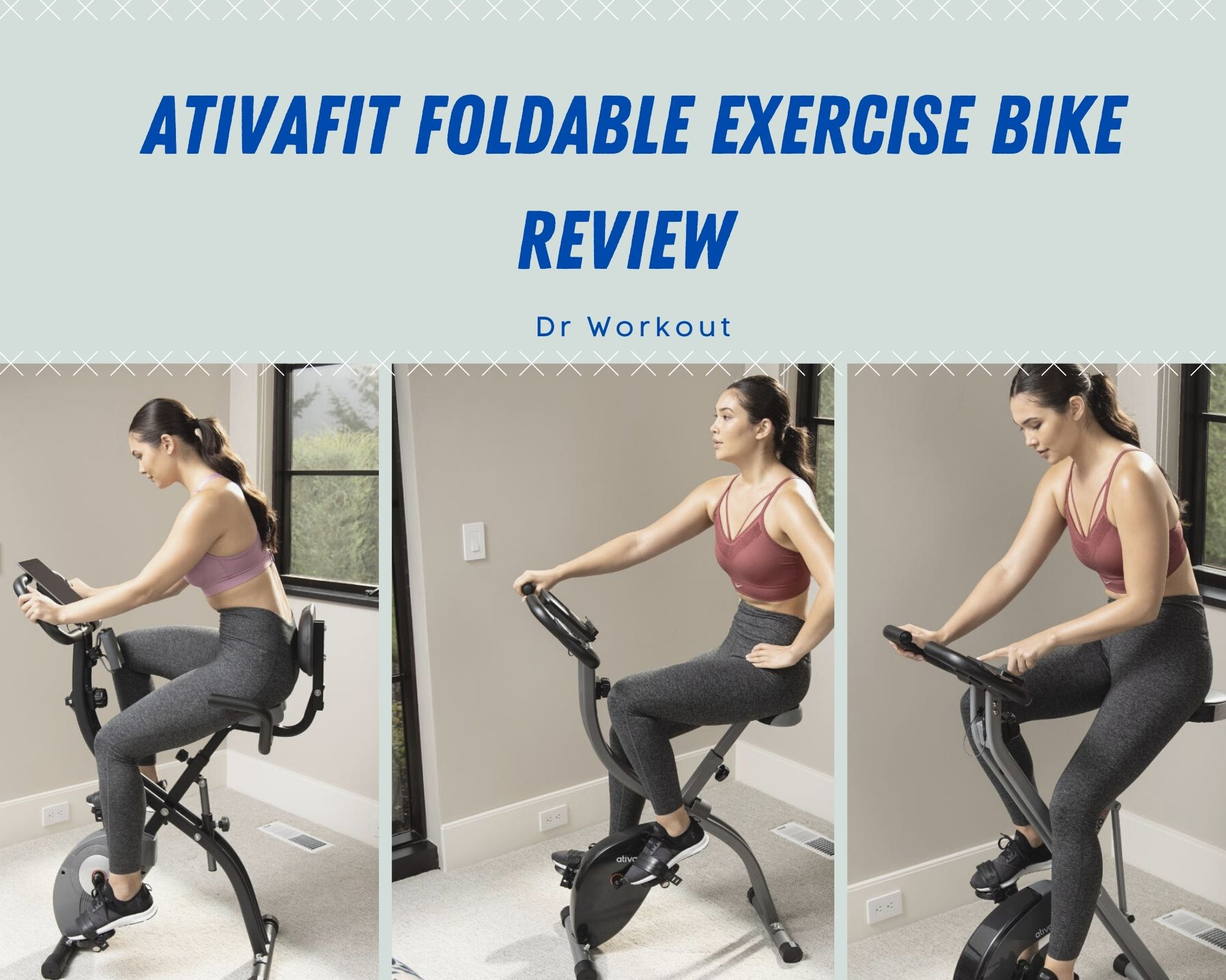 AtivaFit Foldable Exercise Bike Review