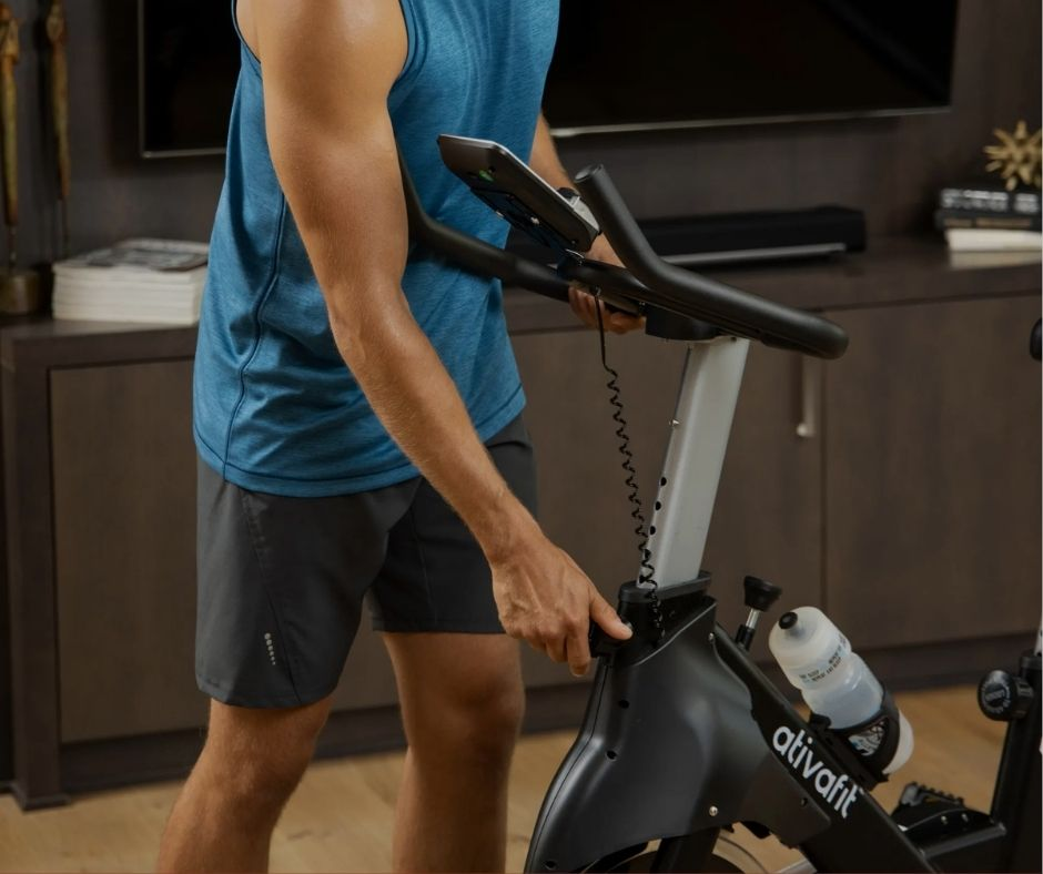 AtivaFit Indoor Cycling Bike Quality of Parts