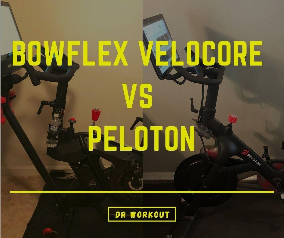 Bowflex VeloCore vs Peloton