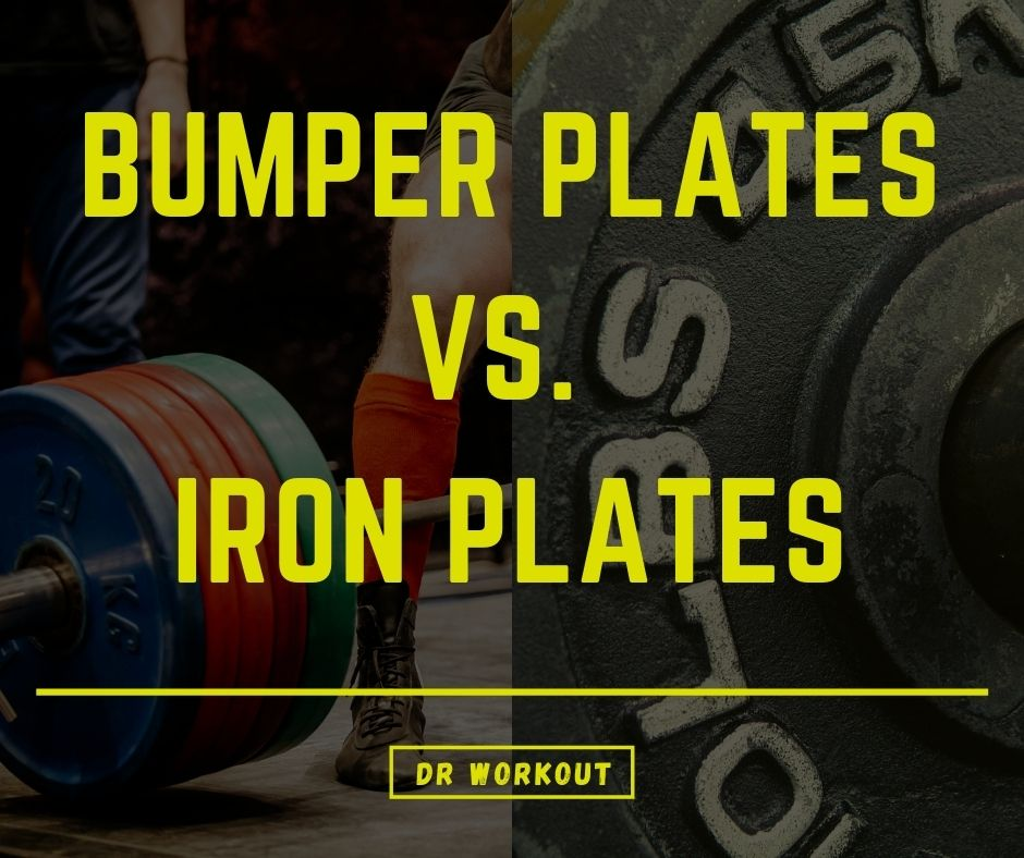 Bumper Plates vs Iron Plates