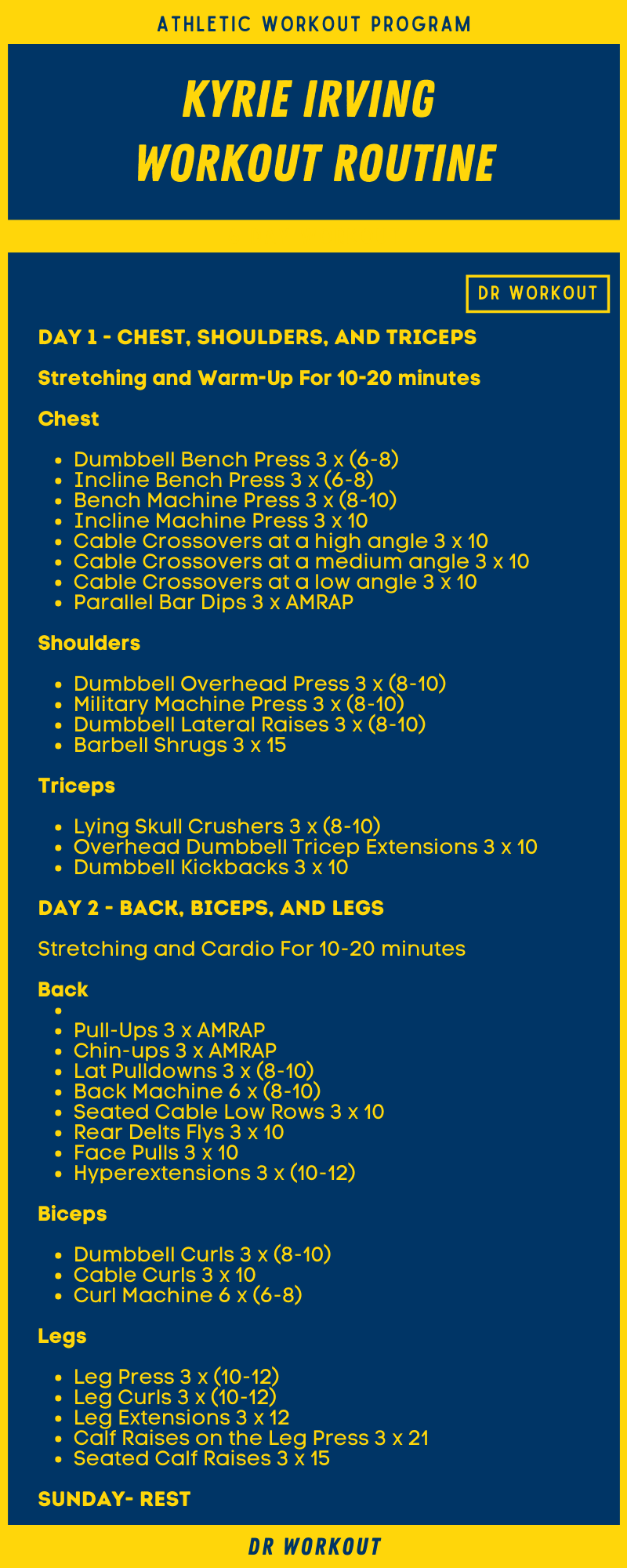 Kyrie Irving Workout Routine