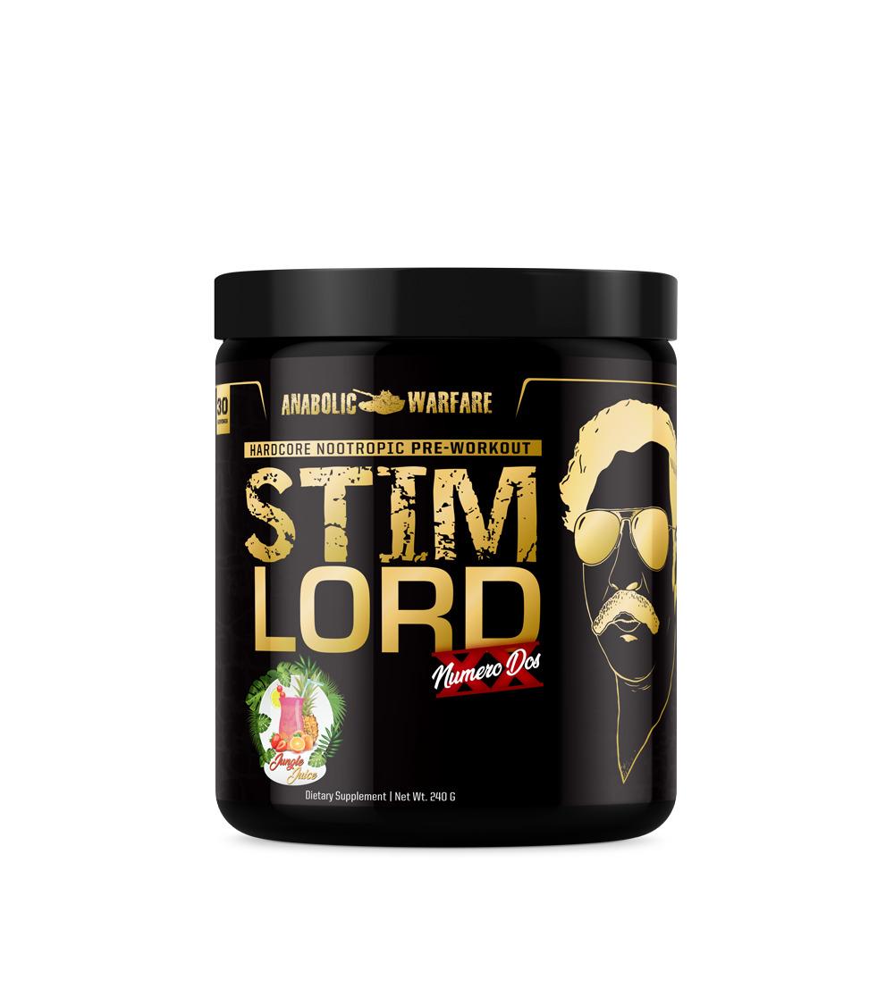 Stim Lord Numero Dos Pre Workout