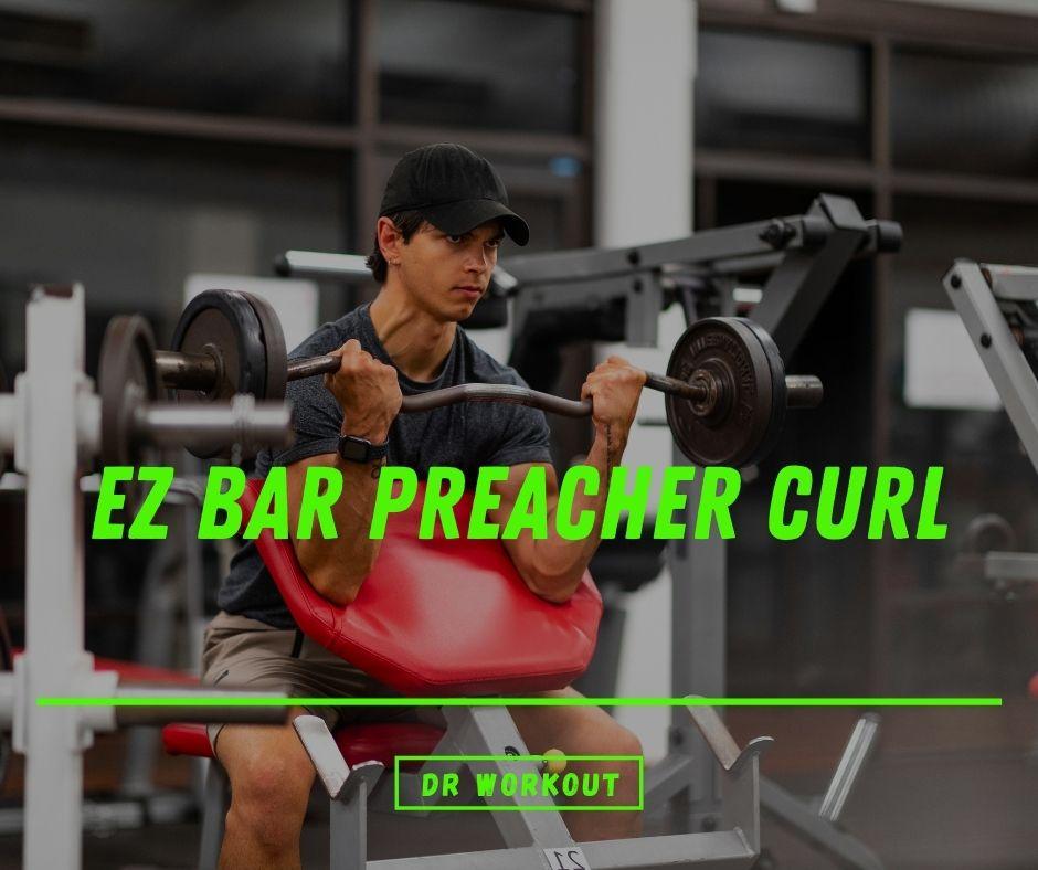 EZ Bar Preacher Curl