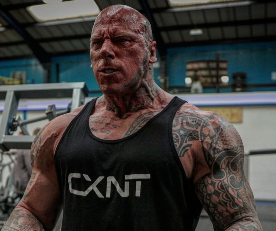 Martyn Ford's Workout